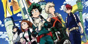 My Hero Academia, Two Heroes, film anime, manga