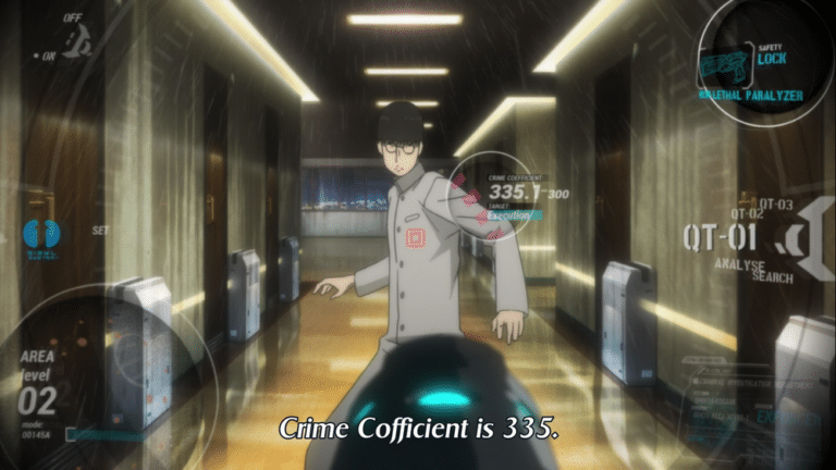 Coefficiente Criminale Psycho Pass