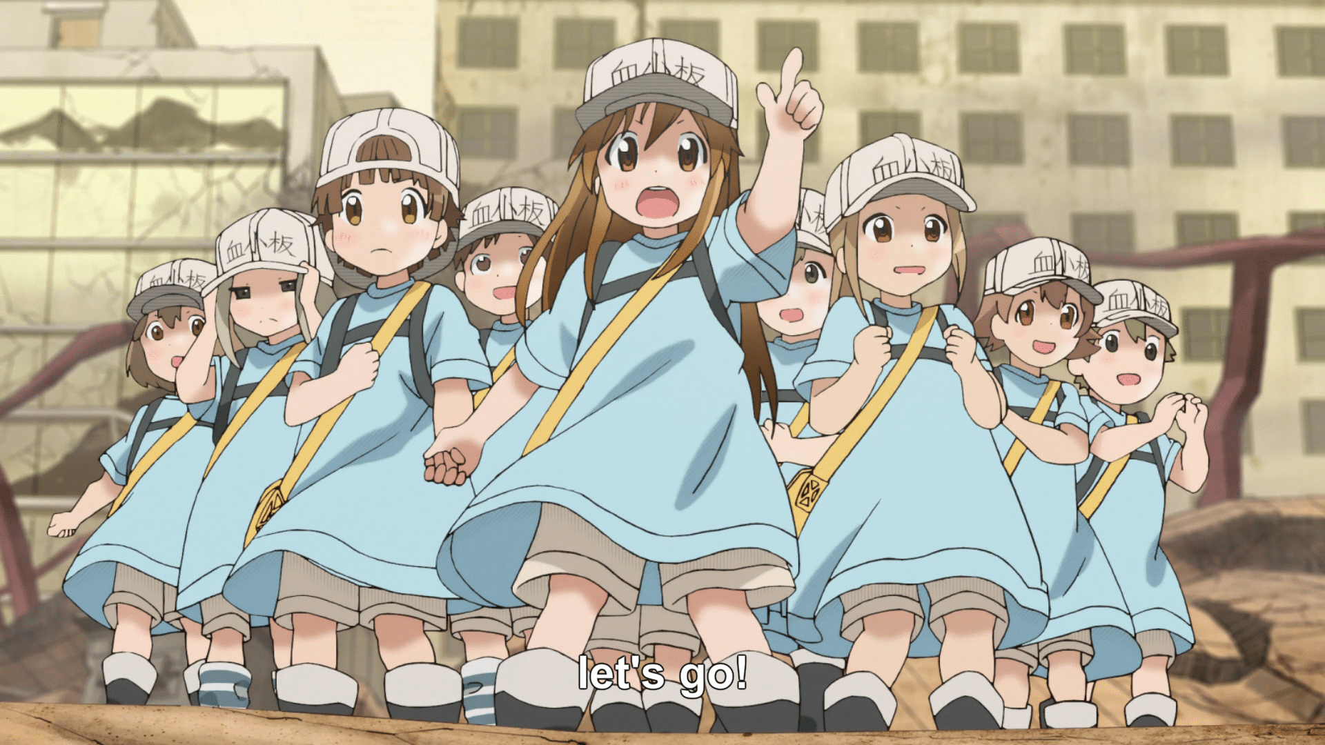cells at work platelets