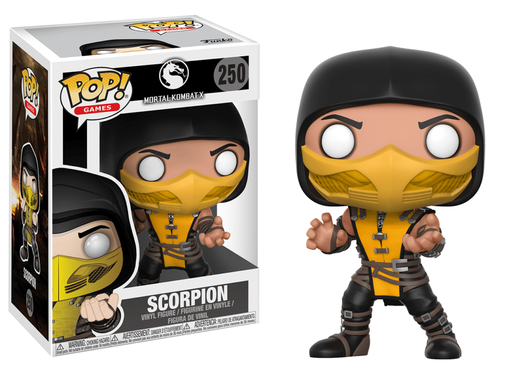 Funko Pop Scorpion Mortal Kombat