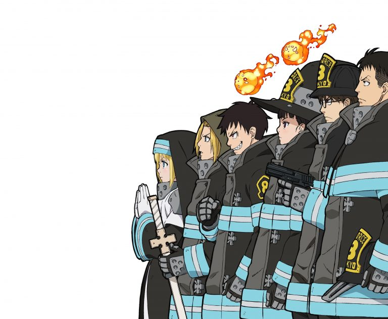 fire force manga anime