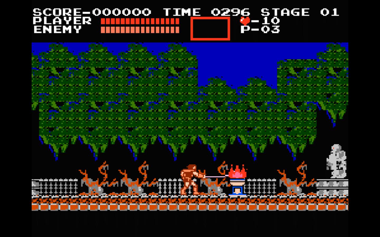 Castelvania per NES