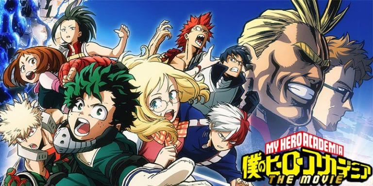 Esce al cinema My Hero Academia - Two Heroes il 23 e 24 marzo