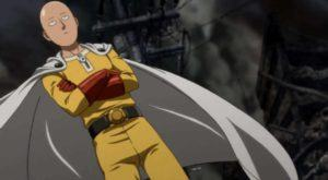 One Punch Man in posa
