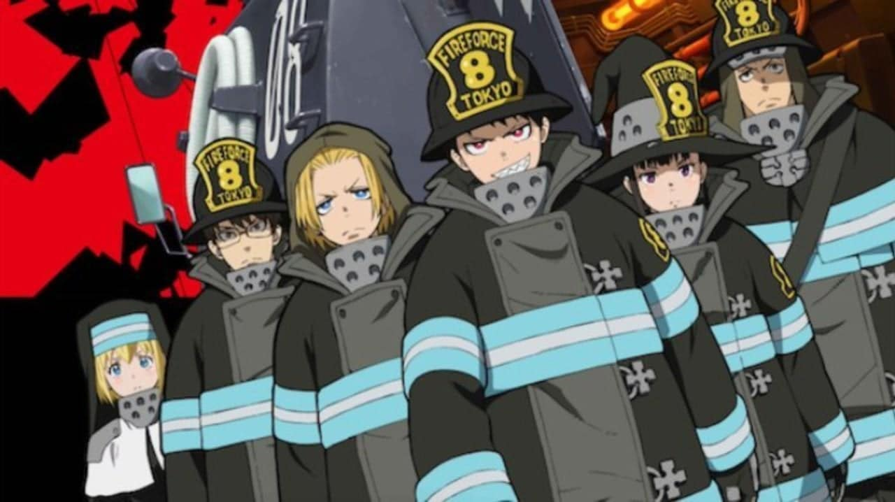 Immagine anime Fire Force