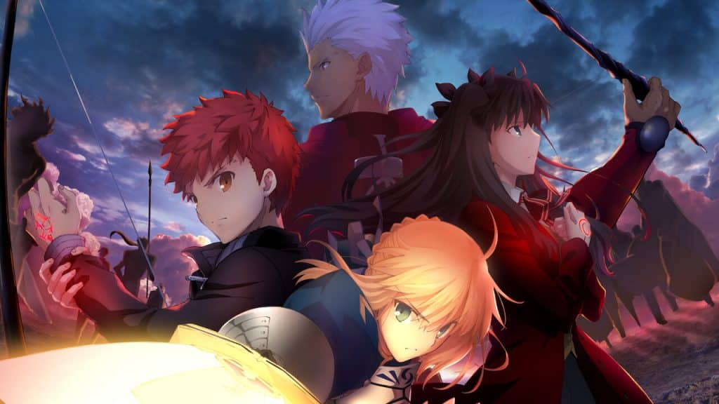 fate unlimited blade works ufotable