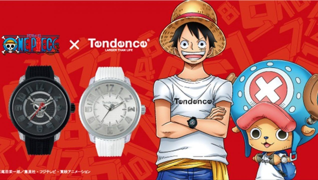 One piece orologio tencence