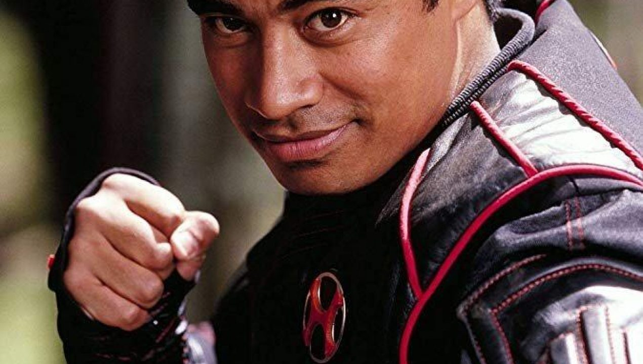 Immagine di Pua Magasiva come Red Ranger in Power Rangers Ninja Storm
